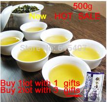 NEW SALE with gifts  oolong tea high mountain organic tie guan yin tea  natural tieguanyin green tea 0.5kg   free shipping