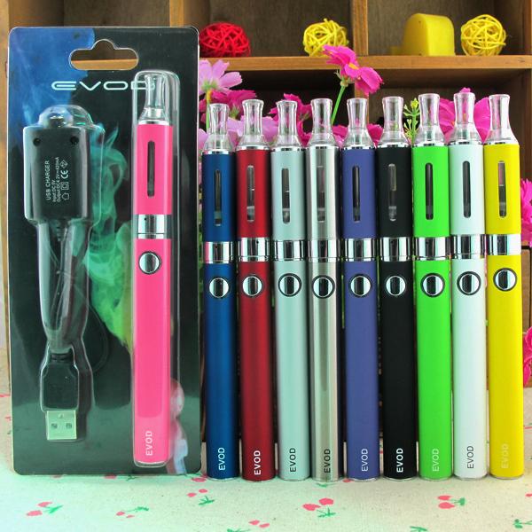 Высокая Quality--EVOD MT3 электронная сигарета комплекты 1.6 мл мт3 форсунка 650 900 1100 мАч EVOD аккумулятор эго электронная сигарета блистер комплекты