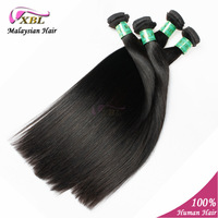 """4 pcs/lot Natural Unprocessed Malaysian Virgin Straight Hair Extension Can Be Dyed Or Bleached 8"""" to 24"""" Soft & Tangle Free"""