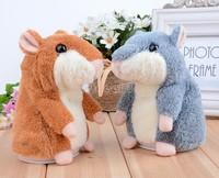 2014 New Fashion Hot Sale Baby/Kids Plush Toys Speak Talking Sound Record Electronic Hamster Toy b4
