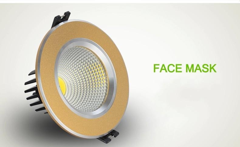Светодиодная лампа MES 5 X 3w 5w 7w 9w 12w 15w downlight /ac85/265v светодиодная лампа koston mr16 dc12v 9w 12w soptlight downlight e27 gu5 3 gu10 ferrshipping