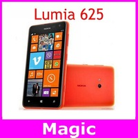 Original Unlocked Nokia Lumia 625 Mobile phone 4.7 inch Touch screen Dual core GPS WIFI 3G 4G network free shipping