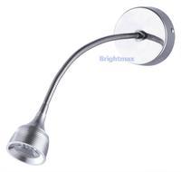S050C 3W Flexible arm light LED wall lamp LED reading lamp LED gooseneck light