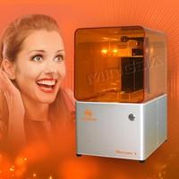 Free Shipping sla 3d printer uv flatbed printer, 3d digital printing machine ,128*128*180mm printing machine