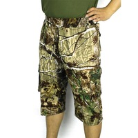 New Summer 2014 HoSell Mens Camouflage Cargo Shorts Mens Loose Mens big size Short Trousers Free shipping