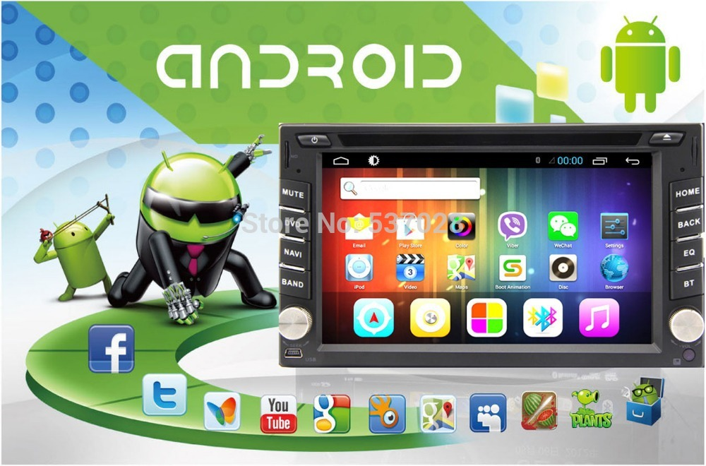 Автомобильный DVD плеер Kaichuang 2DIN Android 4.2 Wifi PC GPS DVD iPod BT USB SD Bluetooth автомобильный dvd плеер kangbo 7 2 din dvd kia borrego dvd gps rds ipod bt