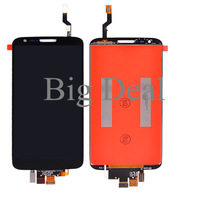 100% Working Black/White For LG Optimus G2 D802/D805 LCD Display With Touch Screen Digitizer Assembly Free Shiping High Quality