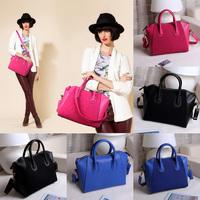 Hot Sale Fashion Bag Patchwork Leather Women Handbag Messenger Hobo Bag Satchel Shoulder Bag