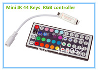 4pcs/lot rgb 44key ir remote controller DC5V - 12v  for 5050/3528 led strip light and RGB LED module