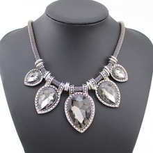 2015 New Fashion Vintage Necklace Colar Jewelry For women Statement Necklace Luxury Collares Choker Necklaces With