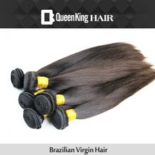 Grade 5A Brazilian Virgin Hair Extensions FREE SHIPPING 4PCS/LOT Human BULK Hair Weaves on Unprocessed Silky straight (China (Mainland))