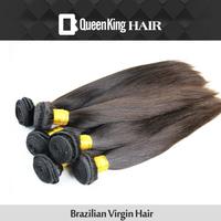 Grade 5A Brazilian Virgin Hair Extensions FREE SHIPPING 4PCS/LOT Human BULK Hair Weaves on Unprocessed Silky straight