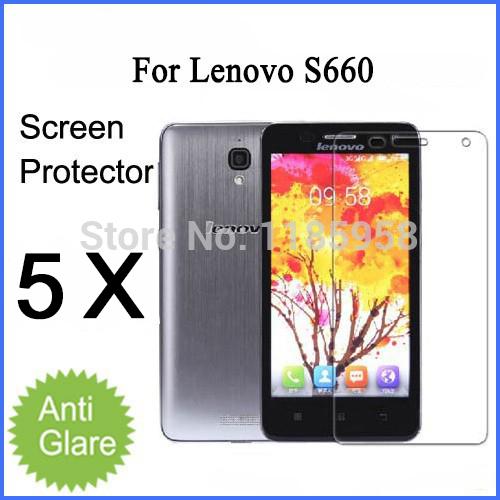 Versandkostenfrei anti-glare matt für lenovo screen protector s660 bildschirm schutzfolie mit retail-paket