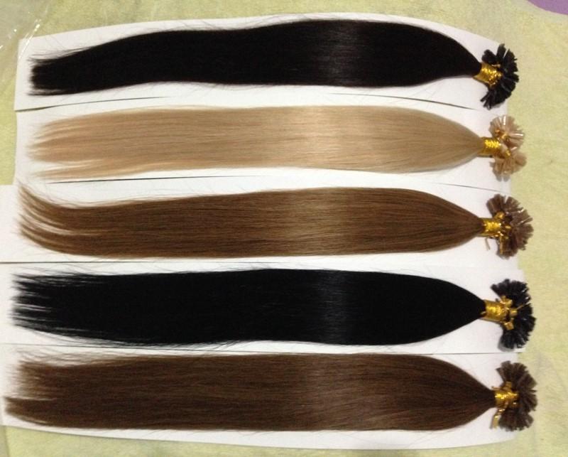 Other 100 50g Pre u 0.5 /18 20 22 #2  Nail Hair fashion hair queen 100 u 0 5 g 18 20 22 1 nail hair