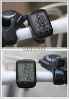 2014 Cycling Bike Bicycle Cycle Computer Odometer Speedometer Waterproof Black #005 SV003378