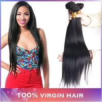 "Brazilian Virgin Hair Straight 4pcs 8""-30"" Brazilian Straight Hair Extension Human Hair Weaves Cheap Brazilian Hair Extensions"