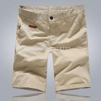 Hot sales !!Summer new men's casual shorts straight men wild fashion 100% cotton beach boxer shorts dropshipping