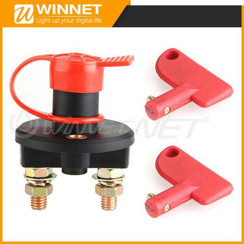 Battery Isolator Cut Off Power Kill Switch 400A 24V+Key+Waterproof Cover(China (Mainland))