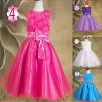 2015 new summer skirt with shoulder-straps,  girls bowknot belt vest dress pattern.  princess fashion dress.