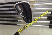 2014 HOT Sale X2 HOT Golf Irons With X 2 HOT Graphite R Flex Shafts Golf Irons Set Clubs #456789PAS