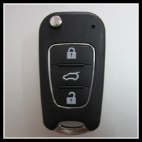 2014 New style for blank flip folding remote key shell for Hyundai I30/IX35/Sonata 8, key case for hyundai 0101256