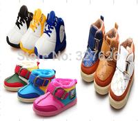 Free Shipping 1pair Antislip Brand Winter warm KIDS Boots Children's Snow boot+Inner12.3-15.3cm, Girl/boy Outdoor Soft Shoes
