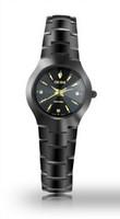 DOM sapphire crystal scratch wear casual watch water resistant 200meters luxury full tungsten steel watch women dress wristwatch