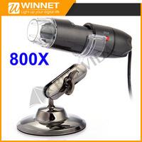 USB LED 2MP 800X Digital Microscope Video Camera Endoscope