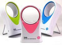 hot sale 2014 Creative Fan USB dual fan mini fan handheld air cooler new arrival Bladeless Fan