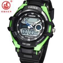 2014 nuevos hombres relojes deportes del muchacho reloj militar Digital LED exterior Casual Dress reloj cronógrafo de la alarma Relogios Masculinos