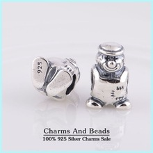 925 Sterling Silver Clown Thread Charm Beads For Charm Bracelets Jewelry Making Fits Pandora Style Bracelets