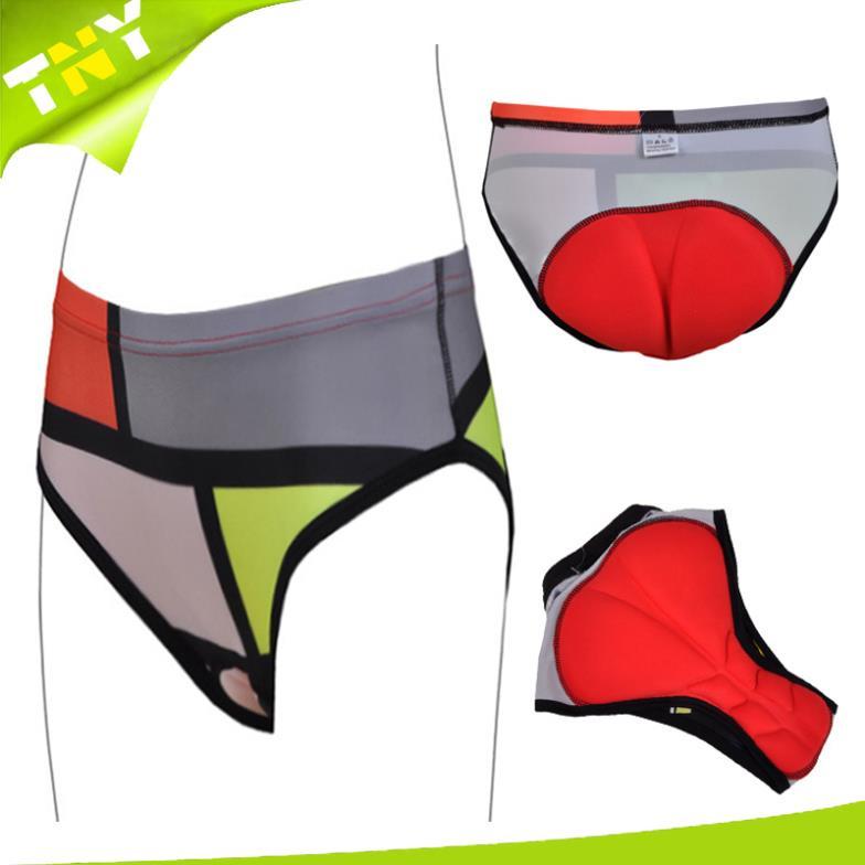 Gel Tech Mattress Style Cycling Underwear Gel 3D Padded Bike/Bicycle Shorts/Pants M