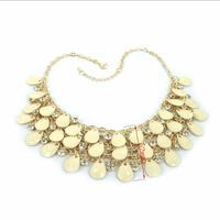 Vogue Crystal Drops Stone Collar Choker Necklace Women Vinatge Jewelry Pendant & Necklace Cheap-fine Store