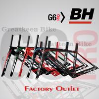 BH G6 carbon frame carbon road bike frame bicyle carbon cycling bicicleta look 695 look 986 De Rosa Colnago c60 c59 frame T1100K