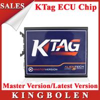 2015 New Arrival KTAG Multi-Language K-TAG ECU Programming Tool Master Version V2.06 K TAG ECU Chip Tunning Free Shipping