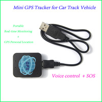 Hot Sale !!! MINI Portable Real-time Monitoring GPS Personal Location GPS/GSM/GPRS GPS Tracker for Car Track Vehicle