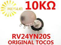 RV24YN20S B103 Original TOCOS RV24YN 2W 10K OHM Single Turn Rotary Carbon Film Potentiometer  x 10PCS