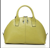2014 Korean version  influx package No. retro shell leather handbag  bag female leather bag of candy 37*25*14CM NB127 Y8PA