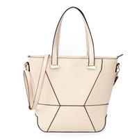 2014 fashion brand handbags PU leather stitching big European and American new Mobile Messenger shoulder  33*17*10CM NB131 Y8PA