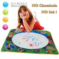 Free shipping innovative items 73*52CM Magic Water Doodle Mat with 1 Magic Pen/Water Drawing Board/Water Mat / aquadoodle mat