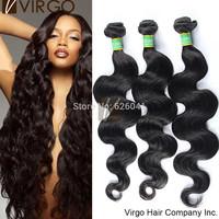 Brazilian Virgin Hair Body Wave Rosa hair products 3Pcs Lot Brazilian Body Wave Unprocessed Virgin Brazilian Hair Natural 1B#