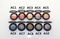 Popular 3pcs/lot Cosmetics Eyeshadow Pigment Color Mineralize eyeshadow Makeup 2G