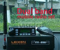 walkie talkie LEIXEN VV-898,10W long km two way radio, fm vhf uhf dual band ham mobile radio,more friendly than baofeng uv 5r