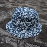 Wholesale blank hat custom camo pattern blank bucket hat cap custom headwear