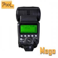 PIXEL Mago GN65 TTL Master High Speed Sync 1/8000s Flash Speedlite for CANON 600d 60d 5d mark iii 650d 550d 6d