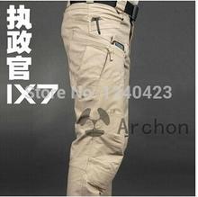 (ESDY) Archon IX7 Military Outdoors City Tactical Pants Men Autumn Sports Cargo Pants Army hiking pants men and waterproof pants(China (Mainland))