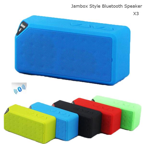 Portable & Popular X3 Mini Bluetooth Speaker(China (Mainland))