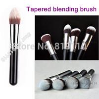 Professional Tapered Kabuki  liquid foundation Brush High Quality Pencil Makeup Brush Soft Hair Facial Care Make Up Brushes Set