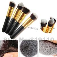 4pcs  Kabuki brush set  Powder  Blush Foundation makeup brushes sets kabuki cosmetic tools Make up Brush  kit  professional