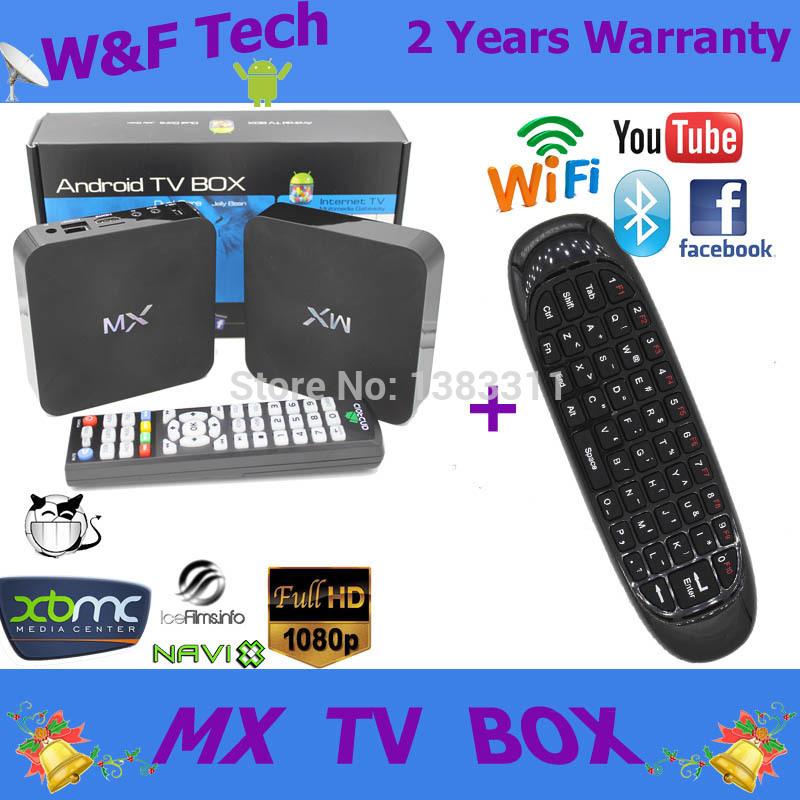 Android dual core tv box Aml 8726-mx android tv box xbmc fully loaded 1gb/8gb media player + C120 mini wireless keyboard(China (Mainland))